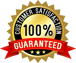 100% Gauranteed Customer Satisfaction logo