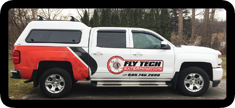 Fly Tech Pest Extermination Truck